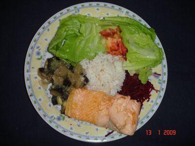 Comida rápida, saudável e gostosa