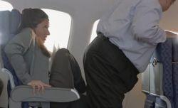 Obesos pagarão por 2 poltronas em aviões