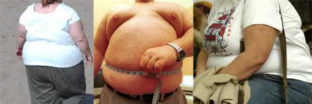 Fotos de pessoas obesas