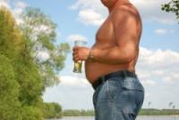 Cerveja: a causa da barriga saliente?