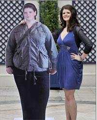 Britânica emagrece quase 70 quilos em menos de dois anos