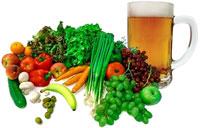 Mais pobres comem poucas verduras; ricos bebem mais cerveja, diz IBGE