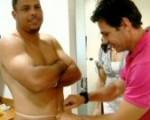 Depois de 3 meses de dieta, Ronaldo emagrece 16,9 quilos